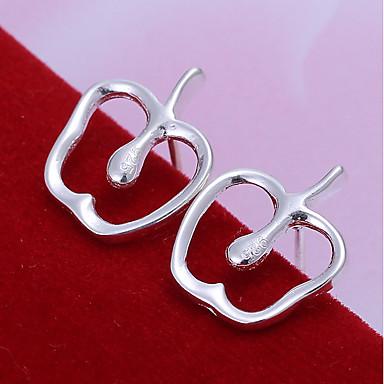 Pentru femei Cercei Stud Bijuterii De Bază Inimă Argilă Apple Bijuterii Petrecere Zilnic Costum de bijuterii