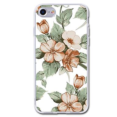 Pentru iPhone 7 iPhone 7 Plus Carcase Huse Transparent Model Carcasă Spate Maska Floare Moale TPU pentru Apple iPhone 7 Plus iPhone 7