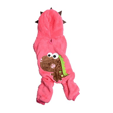 Câine Salopete Îmbrăcăminte Câini Modă Animal Verde Roz Costume Pentru animale de companie