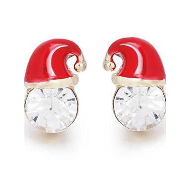 Pentru femei Cercei Stud imitație de diamant La modă Clasic Aliaj Geometric Shape Bijuterii Pentru Serată Crăciun