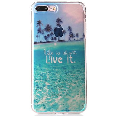 Plus Morbido disegno 7 iPhone IMD Apple Paesaggi 06252709 Per per Plus TPU Custodia retro 7 Fantasia iPhone iPhone Per 6s 6s iPhone 7 iPhone qvUZ4Y
