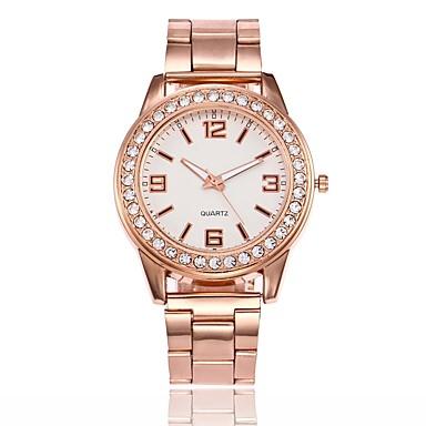 Bărbați Pentru femei Quartz Ceas de Mână Chineză cald Vânzare Aliaj Bandă Casual Unic Watch Creative Ceas Elegant Modă Argint Auriu Roz