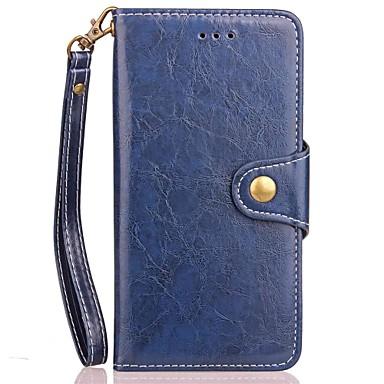 Maska Pentru Samsung Galaxy Note 8 Titluar Card Portofel Cu Stand Întoarce Magnetic Carcasă Telefon Culoare solidă Greu PU piele pentru