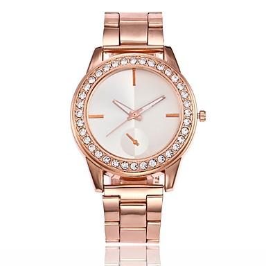 Pentru femei Ceas de Mână Chineză cald Vânzare Aliaj Bandă Casual / Modă / Ceas Elegant Argint / Auriu / Roz auriu