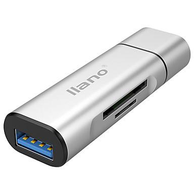 USB 3.0 Tip C Adaptor pentru cablu USB Toate-în-1 1 la 3 Înaltă Viteză OTG Pentru MacBook Pro Macbook 6.8 cm Aluminiu