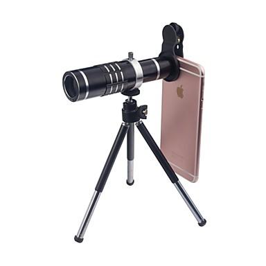Объектив для мобильного телефона Широкоугольный объектив / Макролинза / Телеобъектив Стекло Макрос 18X iPhone / Samsung / Huawei