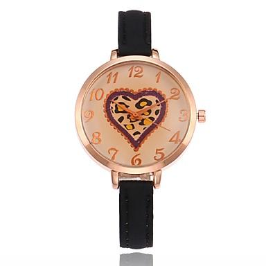 Pentru femei Quartz Ceas de Mână Chineză cald Vânzare PU Bandă Charm Casual Unic Watch Creative Modă Negru Alb Roșu Maro Verde Pink