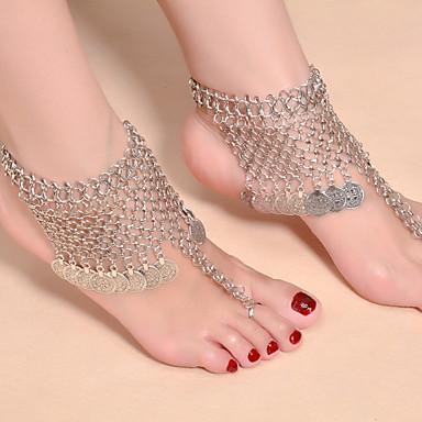Kadın Ayak bileziği/Bilezikler alaşım Vintage Moda Sonsuzluk Mücevher Uyumluluk Günlük
