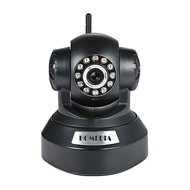 [$39 99] HOMEDIA HM630GB 1 mp IP Camera Indoor Support Max 64GB Supported,  but micro sd card/TF card not included in the package / PTZ / Wired / CMOS