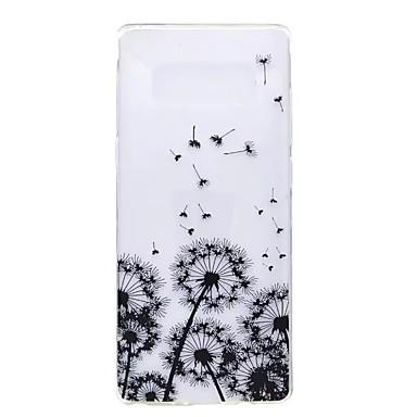 Maska Pentru Samsung Galaxy Note 8 Note 5 Ultra subțire Model Capac Spate Păpădie Moale TPU pentru Note 8 Note 5 Edge Note 5 Note 4 Note