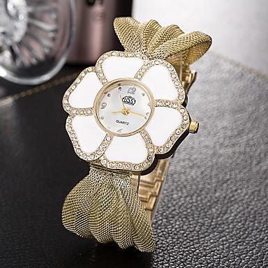Pentru femei Ceas La Modă Ceas de Mână Unic Creative ceas Ceas Casual Quartz Aliaj Bandă Charm Elegant Cool Casual Creative Luxos Argint