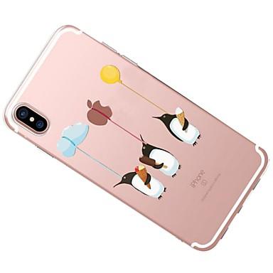 iPhone Morbido retro 8 Per 8 Apple Custodia iPhone disegno 06227701 X Transparente Animali Fantasia per X logo Per TPU Con Apple iPhone iPhone vZ1wU4