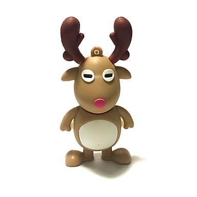 1gb Crăciun usb flash drive desen animat Crăciun cerb Crăciun cadou usb 2.0