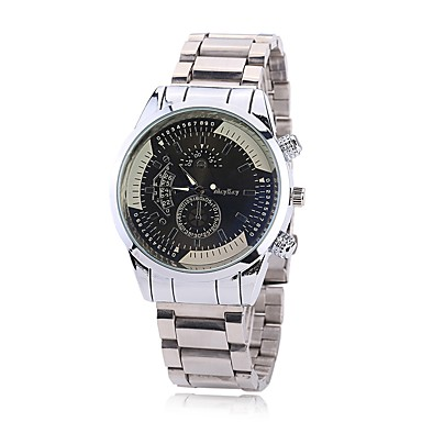 Bărbați Ceas Elegant Ceas La Modă Ceas de Mână Chineză Quartz imitație de diamant Aliaj Bandă Charm Casual Elegant Argint
