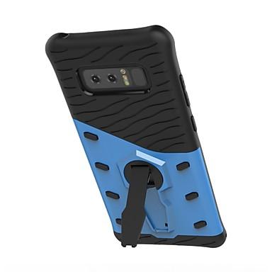 voordelige Galaxy Note-serie hoesjes / covers-hoesje Voor Samsung Galaxy Note 8 / Note 5 360° rotatie / Schokbestendig / met standaard Achterkant Schild Hard TPU
