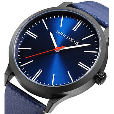 Bărbați Ceas Sport Ceas La Modă Ceas de Mână Unic Creative ceas Ceas Casual Japoneză Quartz Piele Autentică Bandă Charm Cool Casual