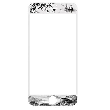 Ecran protector pentru Apple iPhone 7 Sticlă securizată 1 piesă Ecran Protecție Întreg Anti- Amprente 3D Muchie Curbată High Definition