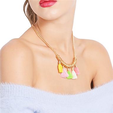 Pentru femei Boem Coliere cu Pandativ Lănțișoare - Boem Sexy Auriu Coliere Pentru Petrecere Zilnic
