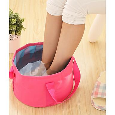 textil Plastic Oval Săculeți Impermeabili Portabil Călătorie Acasă Organizare, 1 buc Pungă de Rufe & Coș