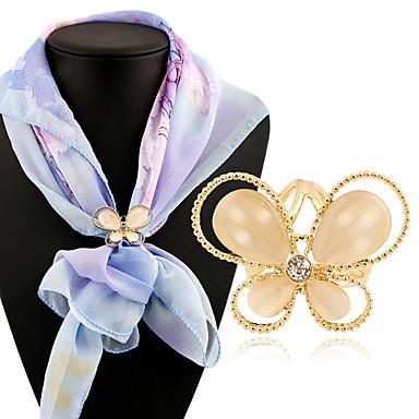 Pentru femei Broșe - Fluture Clasic, Modă Broșă Auriu Pentru Zilnic / Casual