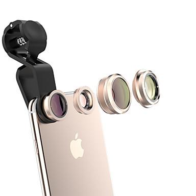 qadou lentilă telefon mobil cpl lentilă cu filtru 185 ochi de pește-lentilă 10x macro obiectiv 120wide-unghi lentilă din aliaj de sticlă