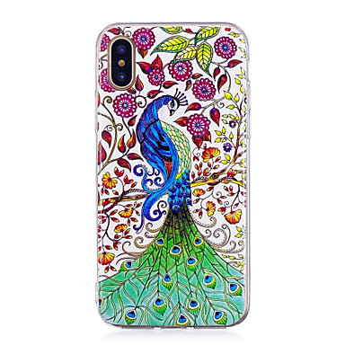 IMD Custodia 8 Apple iPhone Plus Per Morbido iPhone per 8 iPhone 06318336 disegno Per Fosforescente X iPhone 8 TPU retro X iPhone Plus Animali Fantasia ggnr85qw