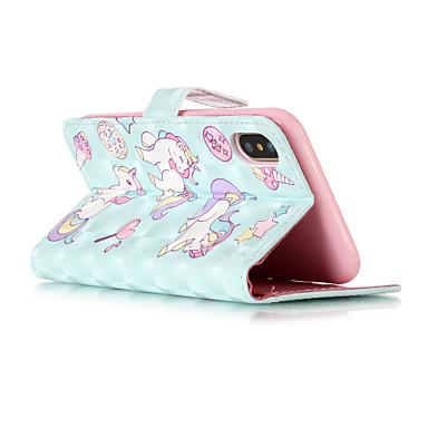 X pelle supporto X Integrale di iPhone portafoglio 8 Resistente 8 Plus iPhone Porta Per Unicorno Con carte credito sintetica iPhone 06269912 iPhone 8 Apple Custodia per A iPhone Otq1Txw