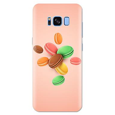 voordelige Galaxy S-serie hoesjes / covers-hoesje Voor Samsung Galaxy S8 Plus / S8 / S7 edge Patroon Achterkant Voedsel Zacht TPU