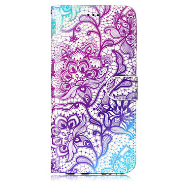 Case For Samsung Galaxy S8 Plus S8 Card Holder Wallet with Stand Flip Pattern Full Body Cases Flower Hard PU Leather for S8 Plus S8 S7