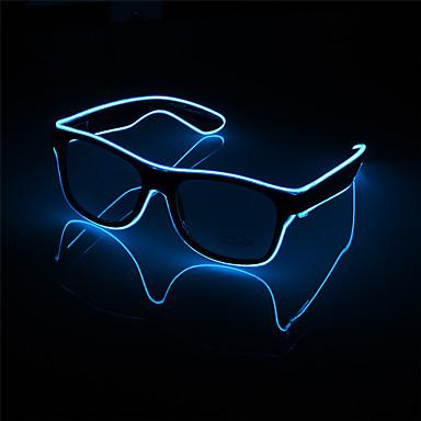540db12d6 1 pc piscando led óculos de festa luminosa iluminação decorativa presente  clássico festival de luz brilhante