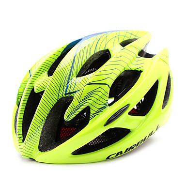kerékpáros sisak 21 Szellőzőnyílás CE CE EN 1077 Kerékpározás Napellenző Ultra könnyű (UL) Sportok PC EPS Kerékpározás / Kerékpár