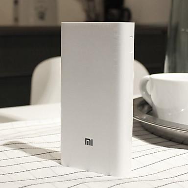billige Batteribanker-Xiaomi 20000 mAh Til Power Bank Eksternt batteri 5-12 V Til Til Batterioplader Restaurering beskyttelse / QC 2.0 LED