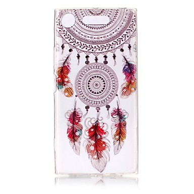Case For Sony Xperia XZ1 Xperia XA1 Ultra-thin Transparent Pattern Embossed Back Cover Dream Catcher Soft TPU for Sony Xperia XZ1 Sony