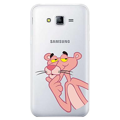 Case For Samsung Galaxy J7 (2017) Pattern Back Cover Cartoon Soft TPU for J7 (2017) / J7 (2016) / J7