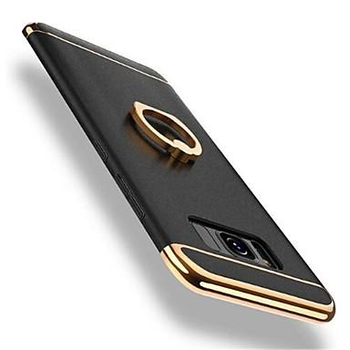 voordelige Galaxy S-serie hoesjes / covers-hoesje Voor Samsung Galaxy S8 Plus / S8 360° rotatie / Schokbestendig / Beplating Achterkant Effen Hard PC