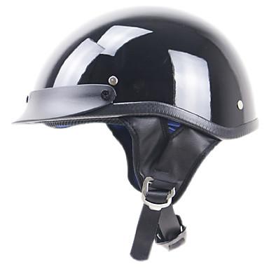 billige Hjelme & Masker-Halvhjelm Voksen Unisex Motorcykel hjelm Hurtighed / Nedslags Resistent / Nem dressing