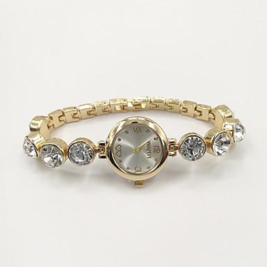 Damskie Modny Zegarek na bransoletce Kwarcowy Stras sztuczna Diament Stop Pasmo Urok Na co dzień Elegancki Złoty