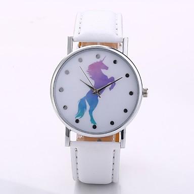 Homens / Mulheres Relógio de Pulso Chinês N / D PU Banda Casual / Minimalista Preta / Branco / Azul / Jinli 377