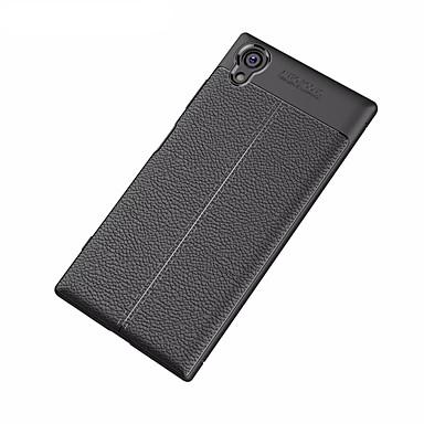 voordelige Hoesjes / covers voor Sony-hoesje Voor Sony Xperia XA1 Plus / Sony Mat / Reliëfopdruk Achterkant Effen Zacht TPU