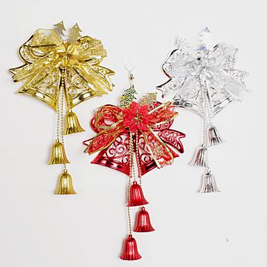 1szt kolor losowo dekoracje świąteczne prezenty rolę ofing ozdoby choinkowe christmas gift powiesić actthe rolę dzwonka