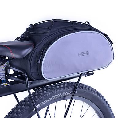 Rosewheel Bisiklet Çantası 13L Bisiklet Arka Çantaları Bisiklet Arka Çantaları/Bisiklet Tekerleği Sepetleri Su Geçirmez Dahili Ketıl