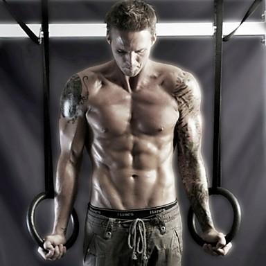 KYLINSPORT Δακτύλιοι γυμναστικής Με 23 cm Διάμετρος ABS πλαστικό Ρυθμιζόμενο, ολυμπιακός, Υψηλής Αντοχής Crossfit, Ανοδικές έλξεις, Δύναμη ώμου Για Γιόγκα / Φυσική Κάτάσταση / Γυμναστήριο