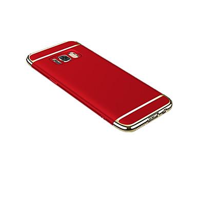 Недорогие Чехлы и кейсы для Galaxy S6-Кейс для Назначение SSamsung Galaxy S8 Plus / S8 / S7 edge Ультратонкий / Оригами Кейс на заднюю панель Однотонный Твердый ПК