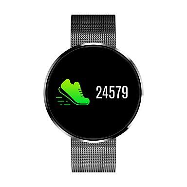 זול שעונים חכמים-חכמים שעונים ל iOS / Android מוניטור קצב לב / מודד לחץ דם / מידע / שליטה במצלמה / בקרת APP מד צעדים / מזכיר שיחות / מעקב שינה / תזכורת בישיבה / מצאו את המכשירשלי / Alarm Clock / NRF51822 / 200-250