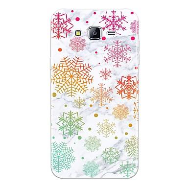voordelige Galaxy J-serie hoesjes / covers-hoesje Voor Samsung Galaxy J7 (2017) / J7 (2016) / J7 Patroon Achterkant Tegel / Marmer Zacht TPU