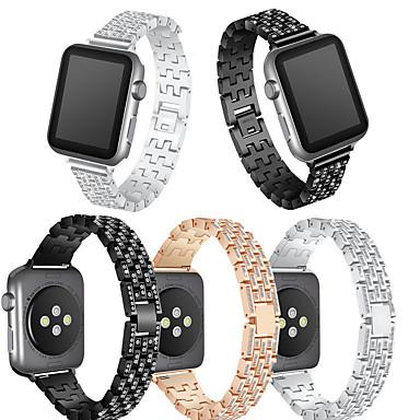voordelige Smartwatch-accessoires-Horlogeband voor Apple Watch Series 4/3/2/1 Apple Moderne gesp Metaal Polsband