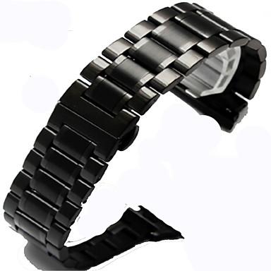Недорогие Ремешки для Apple Watch-Ремешок для часов для Apple Watch Series 4/3/2/1 Apple Классическая застежка Стали Повязка на запястье