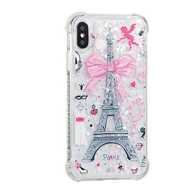 Liquido Per 8 Eiffel Custodia retro iPhone 06509438 disegno Apple Plus cascata 8 iPhone a iPhone TPU X Morbido Plus iPhone per 8 Torre Fantasia Per R00qdw