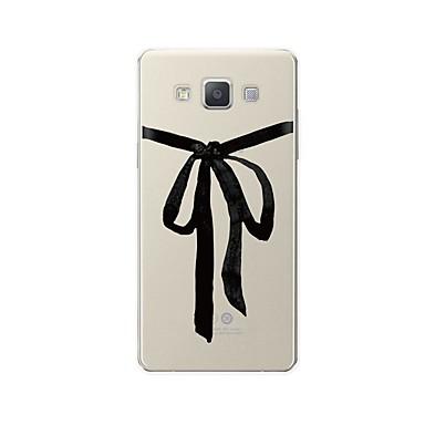voordelige Galaxy A-serie hoesjes / covers-hoesje Voor Samsung Galaxy A3 (2017) / A5 (2017) / A7 (2017) Patroon Achterkant Lijnen / golven / Cartoon Zacht TPU