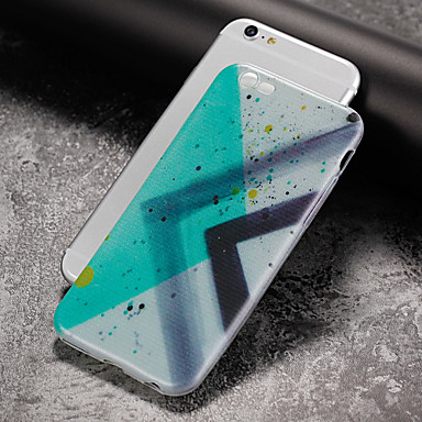 Maska Pentru Apple iPhone 7 iPhone 7 Plus Ultra subțire Model Carcasă Spate Model Geometric Moale TPU pentru iPhone 7 Plus iPhone 7